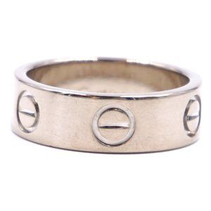18k 750 Love Wedding 5.5mm Size 48 4.5 Ring